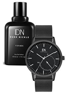 Duke Nickle Duke Nickle 2Pveh28019D Analog Erkek Kol Saati Erkek Edp Parfüm 50 Ml Set